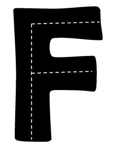F for Block Center Kids Learning Activities, Alphabet Activities, Teaching Kids, Preschool Education, Block Center, Block Area, Preschool Names, Handwriting Without Tears, Alphabet Pictures