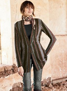 Tejedora Cardigan by Peruvian Connection - Pinned from iCatalog™