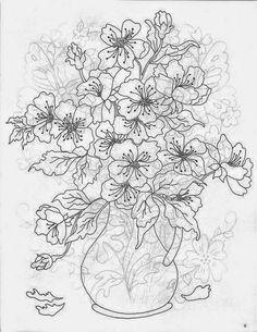 Patron De Bordados Flores Mesa Patrones Para Embroidery
