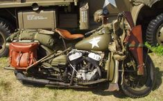 D-Day History Classic: The Harley-Davidson WLA In The Second World War