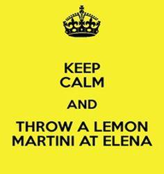 Fifty Shades Fans: Martini de Limon // Lemon Martini
