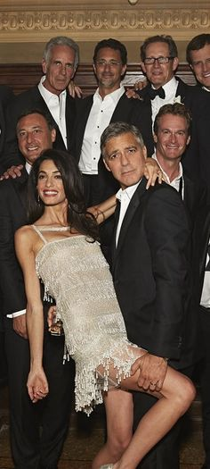 Amal and George danced the night away at their wedding!