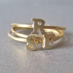 Initial Stackable Ring