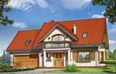 Projekt Julka 3 to wersja wariantowa projektu Julka. Budynek o podobnym, jak w wersji podstawowej układzie wnętrz na parterze i poddaszu, ale przekryty dwuspadowymi dachami. Dzięki temu dom będzie można lokalizować na działkach, gdzie przepisy wymagają stosowania dwuspadowych dachów, a zabraniają domów z dachami wielospadowymi.