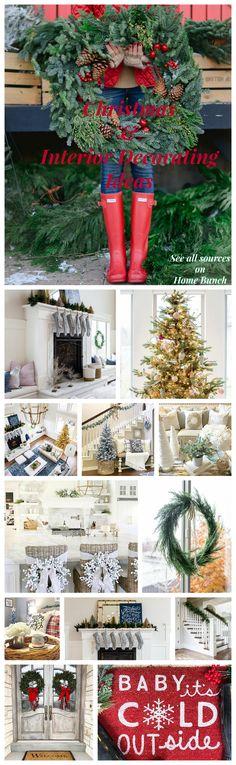 Christmas & Interior Decorating Ideas. Christmas & Interior Decorating Ideas #ChristmasInteriorDecoratingIdeas