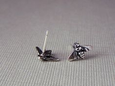 Hey, I found this really awesome Etsy listing at http://www.etsy.com/listing/93720708/sterling-stud-bee-earrings-bee-earrings