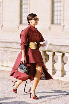 Paris Fashion Week AW 2014....Miroslava