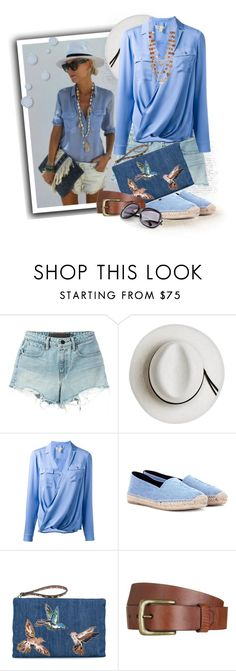 """Michael Kors wrap blouse"" by tasha1973 ❤ liked on Polyvore featuring T By Alexander Wang, Calypso Private Label, MICHAEL Michael Kors, Yves Saint Laurent, RED Valentino, Will Leather Goods and Kim Rogers"