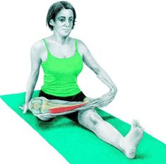 So what kind of muscles do you stretch when you do yoga? Look at these stretching exercises with pictures do find out - Vicky Tomin is a Yoga exercise Shin Splint Exercises, Shin Splints, Muscle Stretches, Stretching Exercises, Yoga Anatomy, Pigeon Pose, Muscle Groups, Massage Therapy, How To Do Yoga