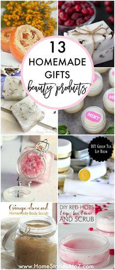 90 Homemade Gift Id Craft Gifts, Diy Gifts, Diy Presents, Crafts To Sell, Diy And Crafts, Homemade Crafts, Homemade Products, Diy Products, Homemade Deodorant