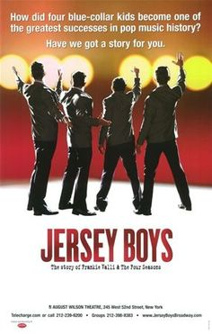 Jersey Boys the Musical Broadway Poster.I can't express my love for this musical! The music is amazing! I would see the show again and again; Music stays in your head for days. Broadway Plays, Broadway Theatre, Musical Theatre, Broadway Shows, Broadway Nyc, Musicals Broadway, Theatre Geek, Clint Eastwood, Broadway Posters