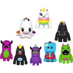 So So Happy USB Flash Drives - $12.97 I really really want either one of the white ones. Saw these at walmart last night. Sooo cute!