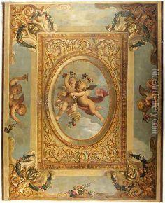 Image result for Italian trompe l'oeil ceilings