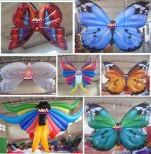 Gonflable thème papillon l'événement / mariage / parti / publicité intérieure ou extérieure décoration