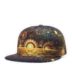 print Snapback Baseball Caps for Men's Women's cap with straight visor cap Male Hip hop gorra casquette hat style Hat Leisur