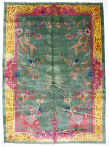 1920s Area Rugs 6968 Magnificent Antique Art Deco Chinese Rug C 1920 Ebay