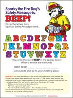 Important of Sound... Fire Alarm for Fire Safety Week