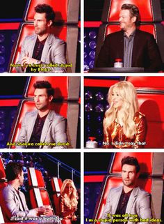 I'm a stupid person with bad ideas -Adam #AdamLevine #Shakira #BlakeShelton #TheVoice