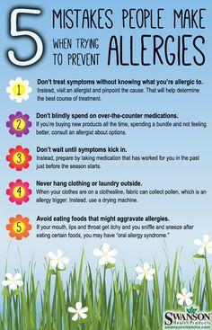 #allergy prevention mistakes, #allergies