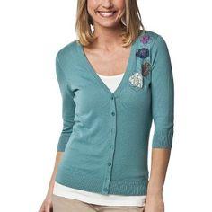 $24.99 + $4.99 shipping Merona® Women's Artist V-Neck Cardigan Sweater - Erie Canel
