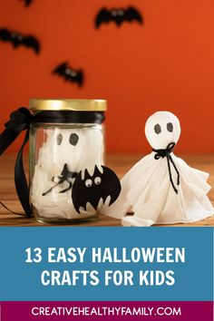 Whether you're planning a Halloween party or just want some ideas for your own family, you're going to love these fun Cheap Halloween, Halloween Crafts For Kids, Halloween Snacks, Diy Halloween Decorations, Halloween Party, Halloween Stuff, Cottage Crafts, Diy Home Crafts, Crafts To Make
