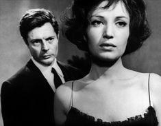 """Monica Vitti & Marcello Mastroianni, """"La Notte"""", Michelangelo Antonioni, 1961."""
