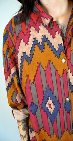 love the pattern and bright colors