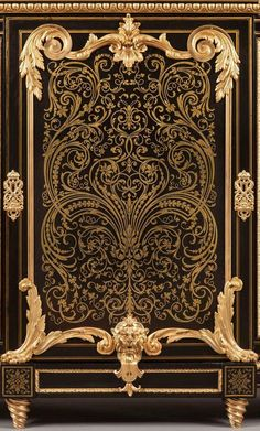 An Antique French Cabinet in the Manner of André–Charles Boulle