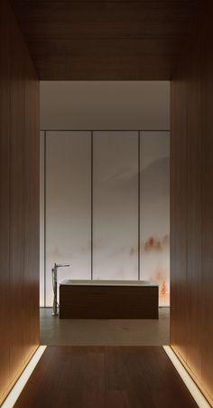 Minimalist Interior, Modern Minimalist, Spa Interior Design, Spa Treatment Room, Hip Pop, Pop Design, Bathroom Spa, White Walls, Shanghai