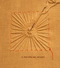 The Pleasure of embroidery: New star cilaos Hardanger Embroidery, Hand Embroidery Stitches, White Embroidery, Embroidery Techniques, Embroidery Patterns, Stitch Patterns, Tenerife, Drawn Thread, Point Lace