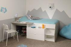 Multi   Funktions   Bett Lou II Bett Jugendzimmer, Hochbett Mädchen,  Kinderbett Mädchen,