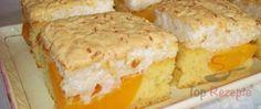 Aprikosenkuchen mit Kokosbaiser
