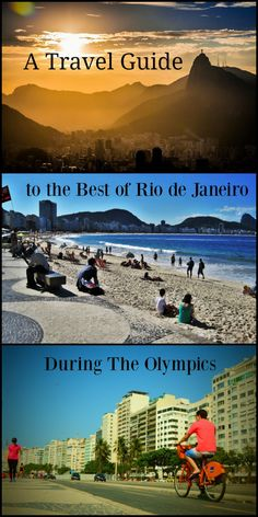 The Best Insider's Guide to Rio Olympics 2016, Brazil. All you need to know to plan your trip and enjoy Rio de Janeiro.  Where to stay, parties, places to eat and watch the games. Precious tips from a local! via @loveandroad