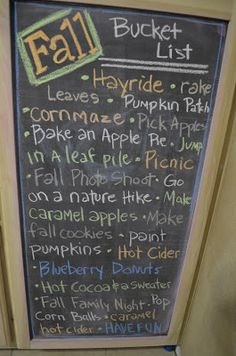 simply FOuR us: Chalkboards..ooh I am so doing this!! I always have a bucket list for holidays but  I always forget! Chalk Board shopping this weekend!