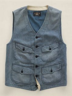 Dig the vest. Orig: Wilkes Vest - RRL Sweaters & Outerwear  - RalphLauren.com
