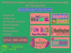Franchises to invest for growth, get the facts and get start...