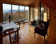 Love the hardwood floors and the big window.
