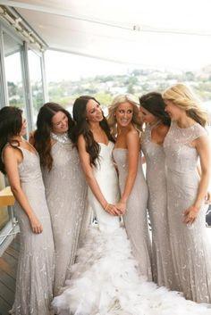 Add some sparkle to your bridal party!  Bridesmaids - Weddbook | Weddbook.com