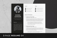 Resume Cv, Templates, Resume, Stencils, Vorlage, Models