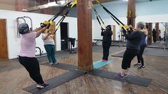 #TRX at #HookedOnFitness #GroupFitness #PhillyPersonalTrainer Another shot from #HookedOnFitness