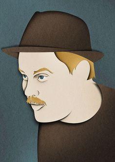 Ilustrações com corte de papel por: Eiko Ojala. // Illustrations with paper cutting by: Eiko Ojala.