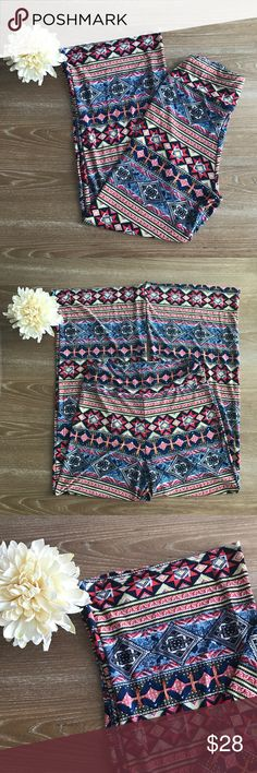 BOHO /AZTEC PALAZZO PANTS 💗Condition: New in package. Waist fits from 26-34. First picture is model/stock item. Second picture is item.  💗Smoke free home/Pet hair free 💗No trades, No returns. No modeling  💗Shipping next day. Beautiful package! 💗I LOVE OFFERS, offer me! 💗ALL ITEMS ARE OWNED BY ME. NOT FROM THRIFT STORES 💗All transactions video recorded to ensure quality.  💗Ask all questions before buying #24 win win  Pants Wide Leg