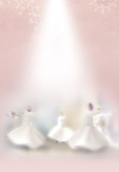 I never understood the dances of the Dervish, the sufism, until I knew Rumi through his wisdom, peaceful heart & mind . Love Comes Softly, Whirling Dervish, Scrapbooking, Soft Colors, My Favorite Color, Ethereal, Pink White, Delicate, Pure Products