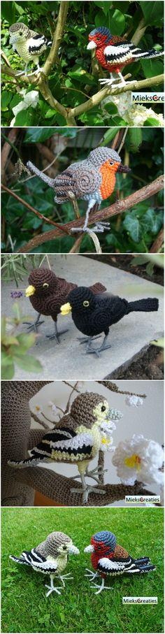 Crochet Bird Patterns You Will Love