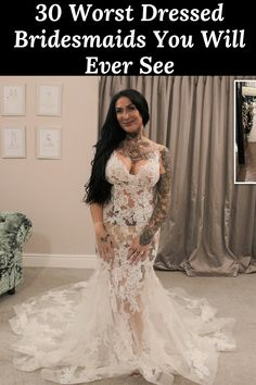 30 #Worst #Dressed #Bridesmaids #You #Will #Ever #See Bridesmaids, Bridesmaid Dresses, Wedding Dresses, Celebrity Gossip, Lace Wedding, Formal Dresses, Celebrities, Unique, Amazing