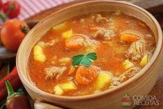 Receita de Sopa deliciosa de frango - Comida e Receitas