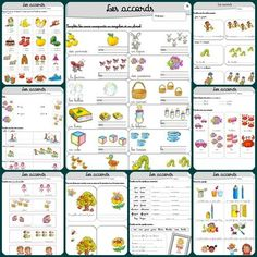 "Je regroupe dans cet article toutes les fiches de grammaire utilisables en compl… I gather in this article all usable grammar sheets in addition to the method ""Making grammar in CP"" The articles and the name A very complete series … Grammar Activities, Educational Activities, Learning Activities, Spanish Activities, French Language Lessons, French Lessons, Spanish Lessons, Teaching French, Adhd"
