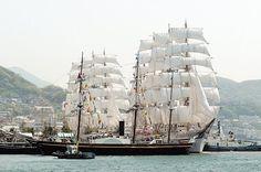 港町長崎に国内外から数々の帆船が集結する日本で随一の帆船イベント!