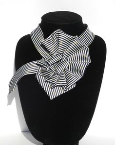 Ladies+Necktie+Scarf+/+Rene+Chagal+Hand+Made+by+JudysLittleShop,+$30.00