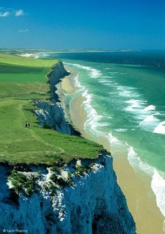Cap Blanc Nez, Nord-Pas-de-Calais, France - Discover Sojasun Italian Facebook, Pinterest and Instagram Pages!